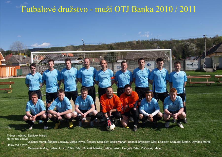 Muži 2010 - 2011